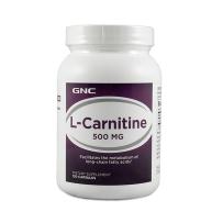 GNC左旋肉碱健康瘦身减肥懒人顽固型减脂燃脂500mg120粒