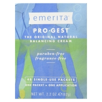 Emerita Pro Gest Cream Paraben Free女性更年期乳霜 48小袋 62g