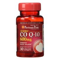Puritan's Pride 普丽普莱 辅酶CoQ10软胶囊 600mg 30粒 保护心脏
