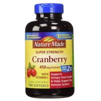 Nature Made Cranberry蔓越莓精华 450mg, 180粒胶囊