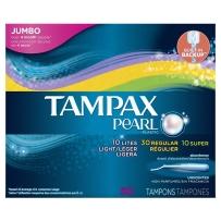 Tampax丹碧丝珍珠卫生棉条导管式内置月经棉棒卫生巾50支