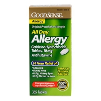 GoodSense All Day Allergy全天抗过敏片365粒【花粉空气动物过敏必备】
