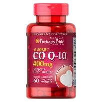 Puritan's Pride 普丽普莱 辅酶CoQ10软胶囊 400mg 60粒 保护心脏