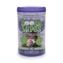 Boogie Wipes 鼻涕虫 宝宝温和卫生湿巾 葡萄味 90抽