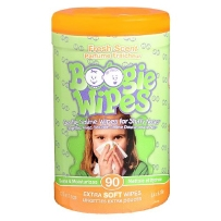 Boogie Wipes 鼻涕虫 宝宝温和卫生湿巾 清新味 90抽
