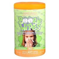 Boogie Wipes 鼻涕虫 宝宝温和卫生湿巾 清新味 90抽