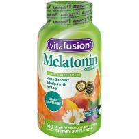 美国 Vitafusion 小熊褪黑素软糖 140粒 促进睡眠 改善睡眠质量 缓解失眠症状