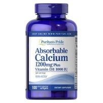 Puritan's Pride 普丽普莱液体钙胶囊100粒成人中老年钙片补钙VD维生素D3