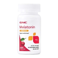 GNC 美乐通宁褪黑素(脑白金) 1mg 樱桃口味 改善睡眠抗衰老,120粒