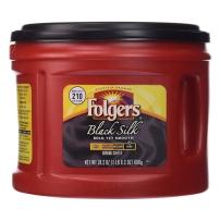 Folgers福爵 Black Silk 黑丝滑咖啡粉686g