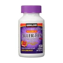 Kirkland柯可兰Aller-Fex抗过敏利嗪片180mg 150片