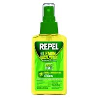 Repel柠檬桉叶油不含DEET防蚊虫驱蚊液 三岁以上儿童可用118ml