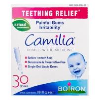 Boiron Camilia婴幼儿出牙疼痛 缓解剂长牙不适顺势疗法30份