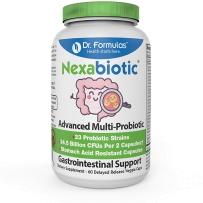 DrFormulas Nexabiotic先进23-strain益生菌嗜酸乳杆菌60粒
