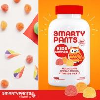 SmartyPants儿童完全多维生素,180粒软糖