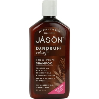 美国Jason Natural Dandruff Relief Shampoo去屑止痒洗发水 355ml