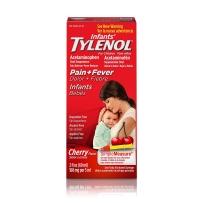 Tylenol Infants 泰诺 婴儿感冒发退烧止痛滴剂 60ml  樱桃味