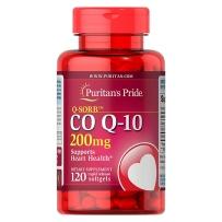 Puritan's pride 高含量辅酶软胶囊Q10 200mg120粒 COQ10 原装
