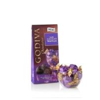 GODIVA 歌蒂梵 松露黑巧克力宝石块 19粒198g