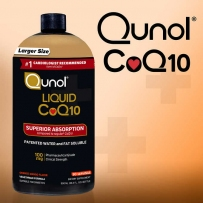 Qunol纯天然液体辅酶COQ-10 100mg 900ml