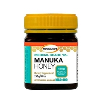 Manuka guard医疗级麦卢卡蜂蜜12+膳食补充剂 250g 可用作伤口敷料