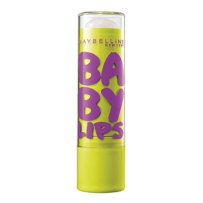 Maybelline美宝莲BABY LIPS宝蓓电光炫彩护唇膏SPF20,黄管Peppermint,4.4 g