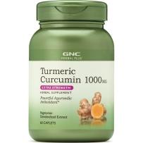 健安喜GNC姜黄素胶囊美国修复肝细胞排毒护肝肠胃健康1000mg*60片