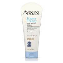 Aveeno Eczema天然燕麦身体乳保湿霜206g 成人湿~疹霜不含激素