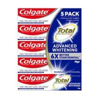 Colgate 高露洁全效净白牙膏 5支装