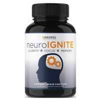 Havasu Nutrition 脑力能量片 注意力记忆大脑助推器无咖啡因30粒
