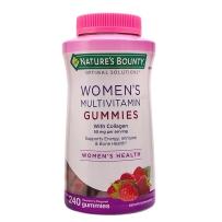 Nature's Bounty 自然之宝 女士多种复合维生素软糖 240粒 含胶原蛋白
