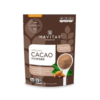 Navitas Naturals Cacao Powder 原生可可粉 无糖非碱化 USDA认证 烘焙甜点 拌甜点 冰沙 227g