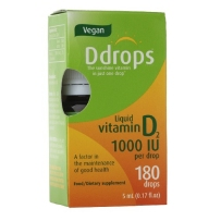 Ddrops成人维生素D2素食滴剂 180滴
