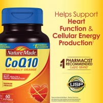 Nature Made CoQ10 高浓度辅酶Q10 400mg 60粒