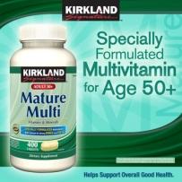 Kirkland 可兰 中老年复合维生素(50岁以上)400粒