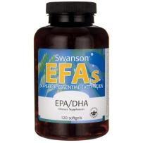 Swanson斯旺森 EPA深海鱼油软胶囊 100粒 双倍EPA、DHA 美国原装进口