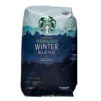 美国 STARBUCKS 星巴克 冬季限量法式浓香阿拉比卡咖啡豆 1130g 中度烘焙需研磨