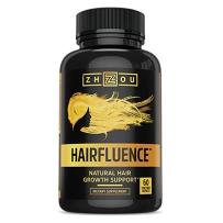 """ZHOU HAIRFLUENCE """"发康""""头发滋养脱落再生破损促进头发整体健康皮肤指甲60粒"""