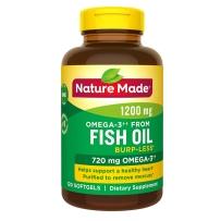 Nature Made深海每日鱼油软胶囊 720mg  120粒
