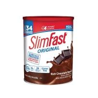 Slim-Fast 健康瘦身代餐粉奶昔粉 巧克力味  884g