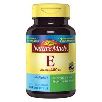 Nature Made 水溶性纯天然维生素E 400IU180粒