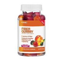 GNC健安喜 成人膳食果蔬纤维软糖 80粒 助消化治便秘排毒瘦身