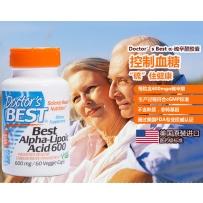 DOCTOR'S BESTα-硫辛酸Alpha-Lipoic Acid 抗氧化衰老