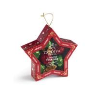 GODIVA圣诞松露形巧克力制品星星礼盒