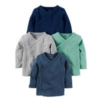 Carter's卡特 Side-Snap 男婴4件T恤