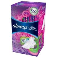 Always Radiant Infinity棉柔日用量多型卫生巾26片 清香型