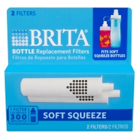 Brita 碧然德软挤压滤水器瓶更换过滤器 滤芯 2个