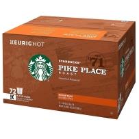 Starbucks 星巴克 非速溶咖啡胶囊 派克咖啡(中度烘焙) 72支