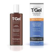 Neutrogena 露得清 T-gel洗发水 177ML (含1%煤焦油)男女士控油修复受损发 去屑止痒 有效杀菌 脂溢性炎