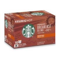 Starbucks 星巴克 非速溶咖啡胶囊 10支装 早餐综合咖啡(中度烘焙)